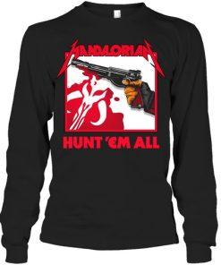 Mandalorian Hunt 'Em All long sleeve