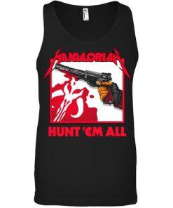 Mandalorian Hunt 'Em All tank top