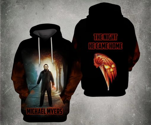 Michael Myers The night he came home 3D hoodie