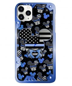 Mickey Mouse Back the blue phone case 11