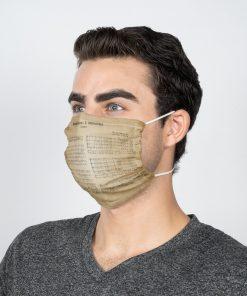 Mozart Requiem face mask2