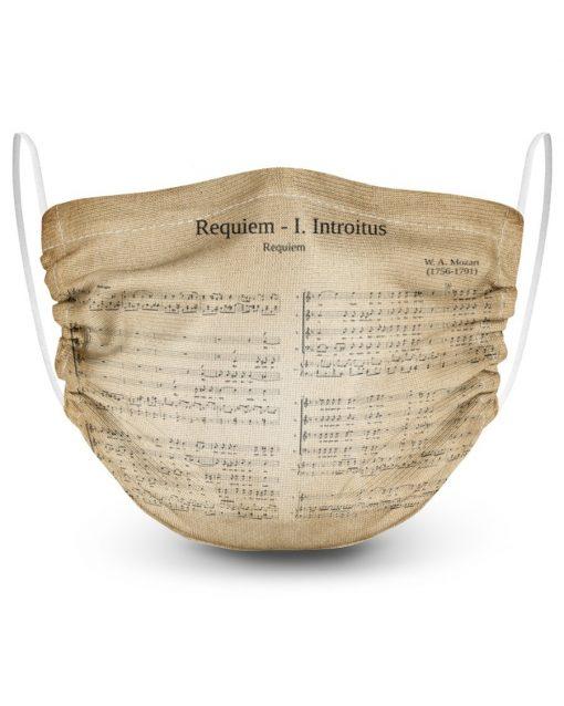Mozart Requiem face mask3