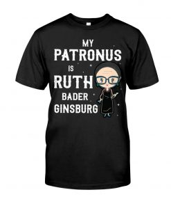 My Patronus Is Ruth Bader Ginsburg shirt