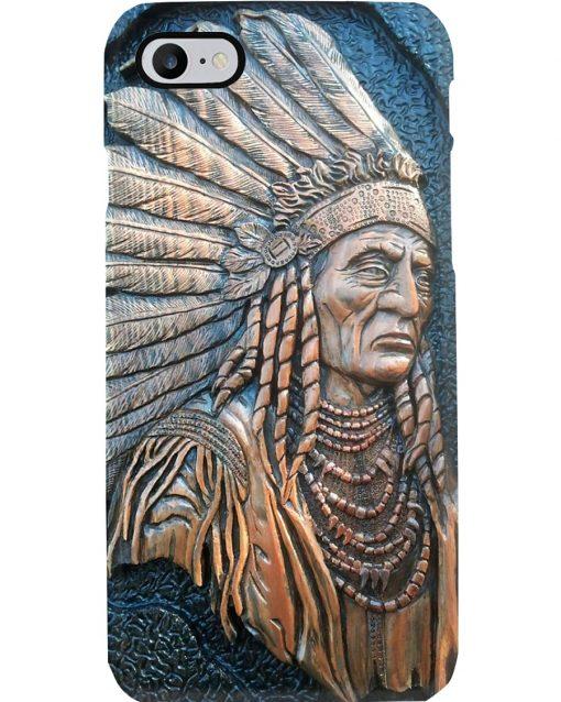 Native American ceramics 3D phone case 7