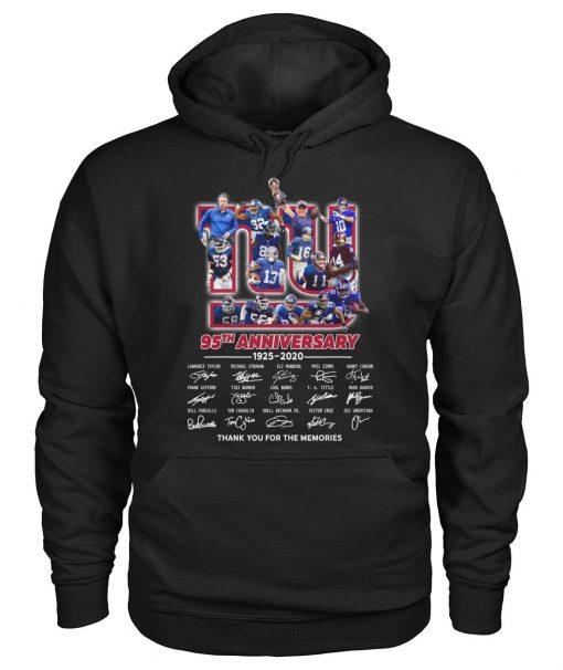 New York Giants 95th Anniversary 1925-2020 Hoodie