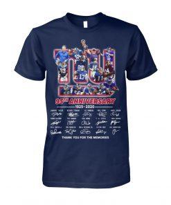 New York Giants 95th Anniversary 1925-2020 T-shirt