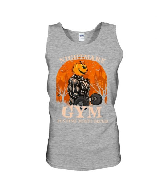 Nightmare Gym It's time to get Jack'd Tank top
