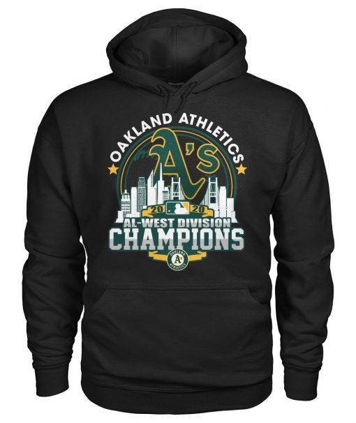 Oakland Athletics 2020 Al-west Division Champions Hoodie