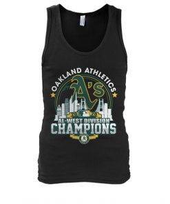 Oakland Athletics 2020 Al-west Division Champions Tank top