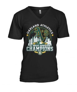 Oakland Athletics 2020 Al-west Division Champions V-neck
