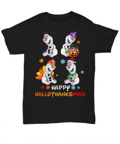 Olaf Happy Hallothanksmas shirt