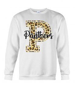 Panthers School Mascot Leopard Skin Sweatshirt