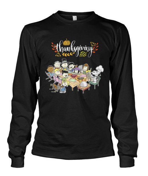 Peanuts Snoopy Thanksgiving Long sleeve