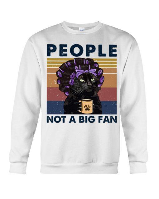 People Not A Big Fan Lady Cat sweatshirt