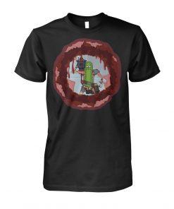 Pickle Rick Laser Gun T-shirt
