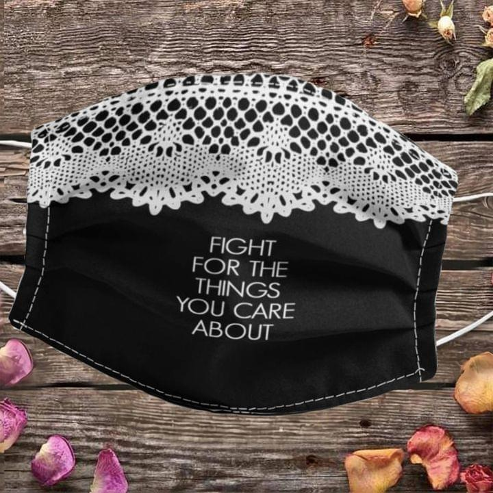 RBG Collar Fight For The Things You Care About Mask 0