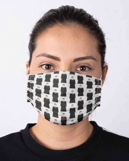 RBG Ruth Bader Ginsburg pattern face mask2