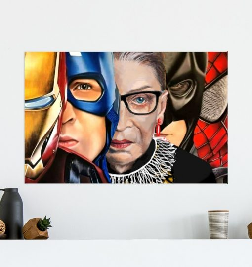 RGB With Superheroes poster 1