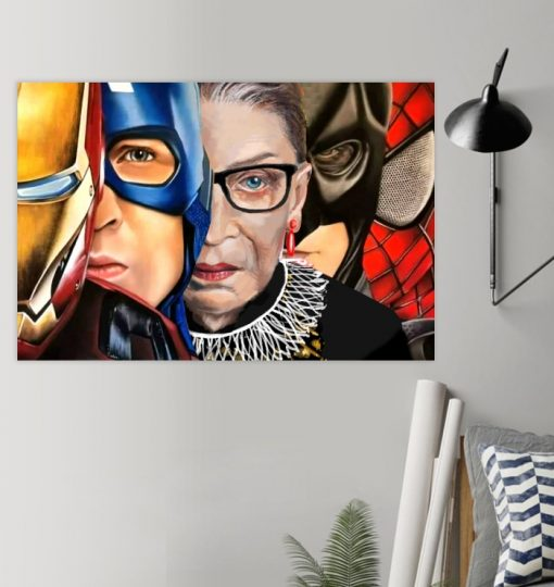 RGB With Superheroes poster
