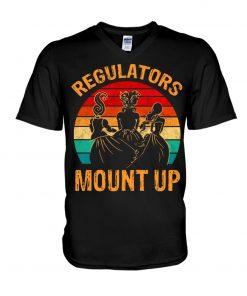 Regulators Mount Up v-neck