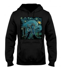 Rick and Morty Van Gogh - Starry Night hoodie