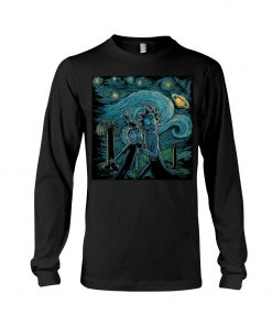 Rick and Morty Van Gogh - Starry Night long sleeve