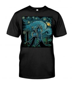Rick and Morty Van Gogh - Starry Night shirt