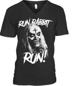 Run Rabbit Run Rob Zombie V-neck