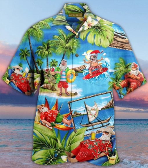 Santa Claus Hawaiian Shirt