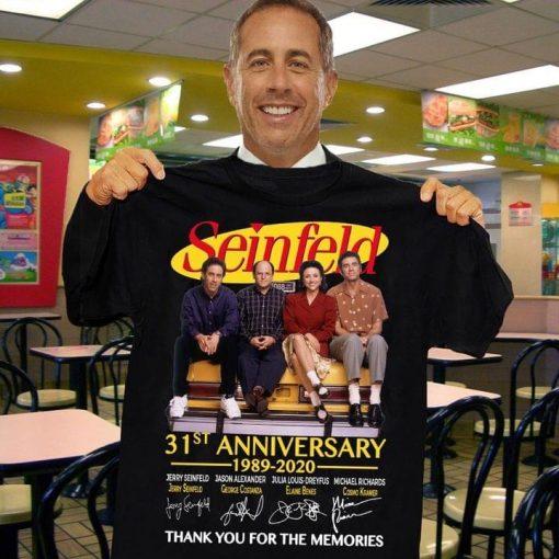 Seinfeld 31st Anniversary 1989-2020 shirt