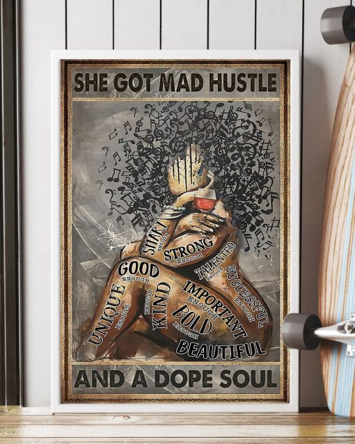 She Got Mad Hustle And A Dope Soul Fat Girl Poster3