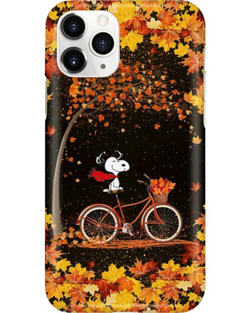 Snoopy Autumn phone case 11