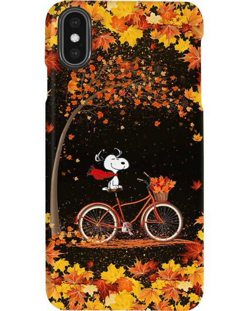Snoopy Autumn phone case x