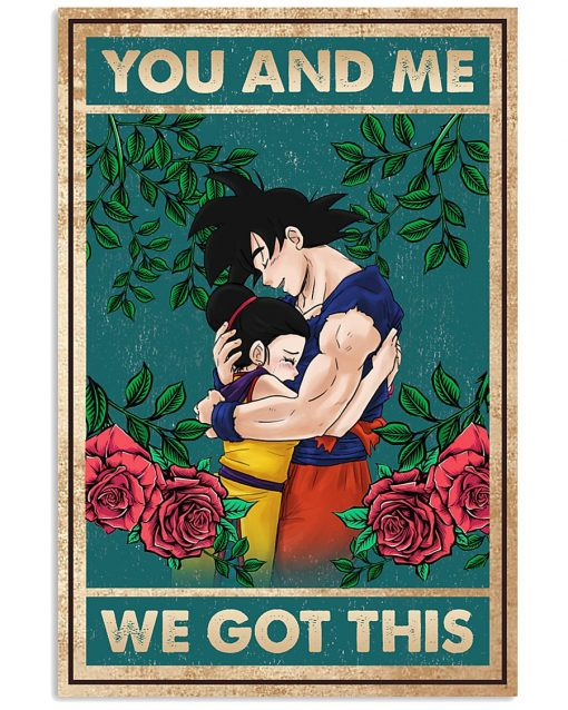 Son Go Ku- Chichi You and me We got this poster 1
