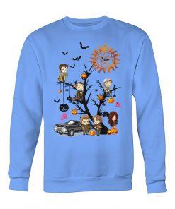 Supernatural Halloween Tree Sweatshirt