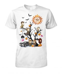Supernatural Halloween Tree T-shirt