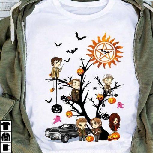 Supernatural Halloween Tree shirt
