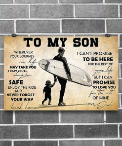 Surfing To my son wherever your journey in life may take you I pray you'll always be safe poster1