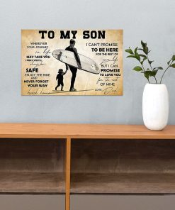 Surfing To my son wherever your journey in life may take you I pray you'll always be safe poster3