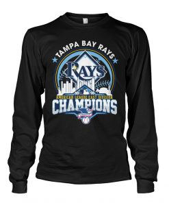 Tampa Bay Rays 2020 American League East Division Champions Long sleeve