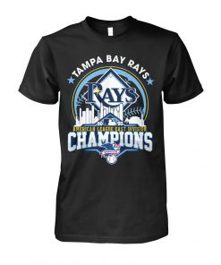 Tampa Bay Rays 2020 American League East Division Champions T-shirt