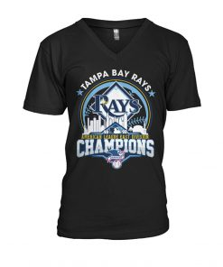 Tampa Bay Rays 2020 American League East Division Champions V-neck