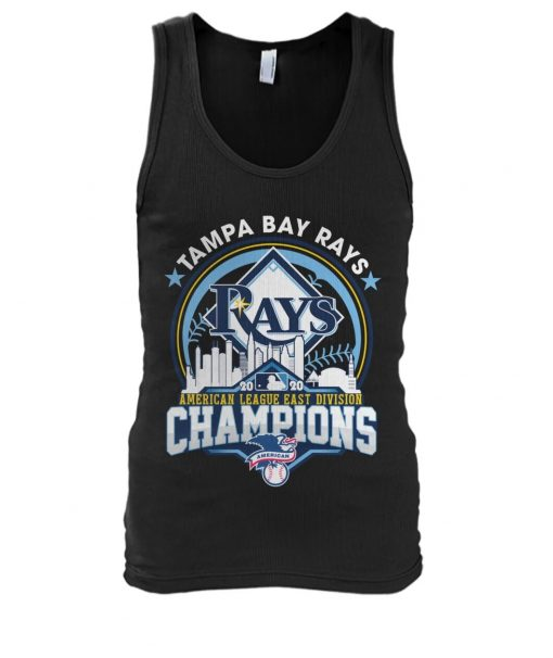 Tampa Bay Rays 2020 American League East Division Champions tank top