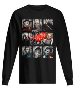 The Bloody Bunch Horror movie characters long sleeve