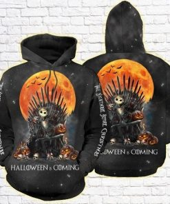The Nightmare Before Christmas Halloween Is Coming 3D All Over Print Hoodie