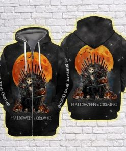 The Nightmare Before Christmas Halloween Is Coming 3D All Over Print Hoodie1