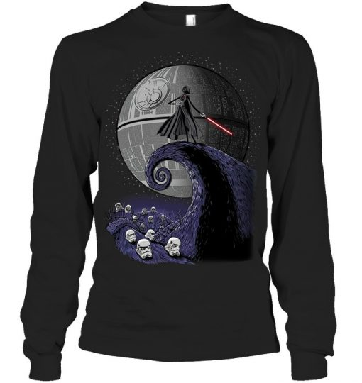 The Nightmare Before Christmas Star Wars Darth Vader Long sleeve