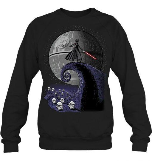 The Nightmare Before Christmas Star Wars Darth Vader Sweatshirt