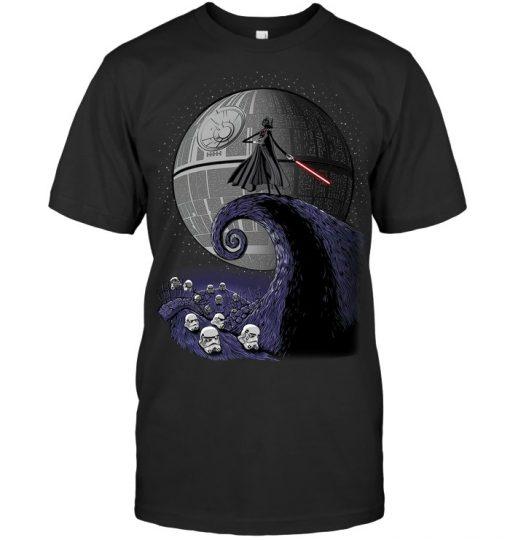 The Nightmare Before Christmas Star Wars Darth Vader T-shirt