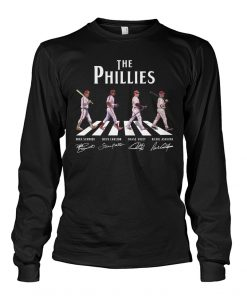 The Phillies Abbey Road - The Beatles Long sleeve